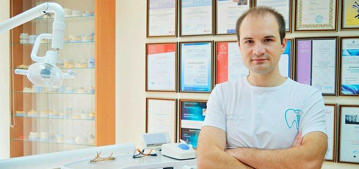 Скидка до 72% на УЗ - чистку зубов, Air Flow, полировку пастами в стоматологии Алексея Драбинки