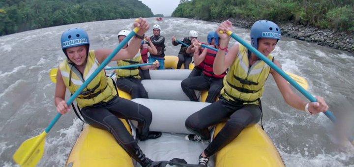 Рафтинг-тур на реке Черный Черемош с проживанием в отеле, трансфером и развлечениями