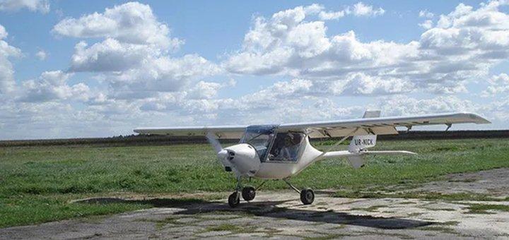 Скидка до 42% на ознакомительные полеты на самолете Storch с панорамной крышей от «Flykiev»