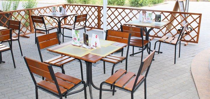 Скидка 50% на всё меню кухни и напитки в ресторане боулинг-клуба «Панорама»
