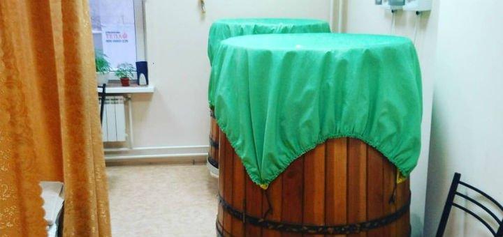 До 7 сеансов лимфодренажного массажа в кабинете фитопаротерапии