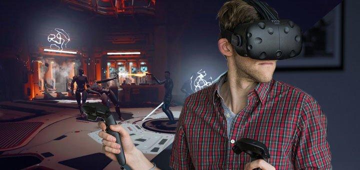 Полное погружение в виртуальную реальность в игровом пространстве «Cube»