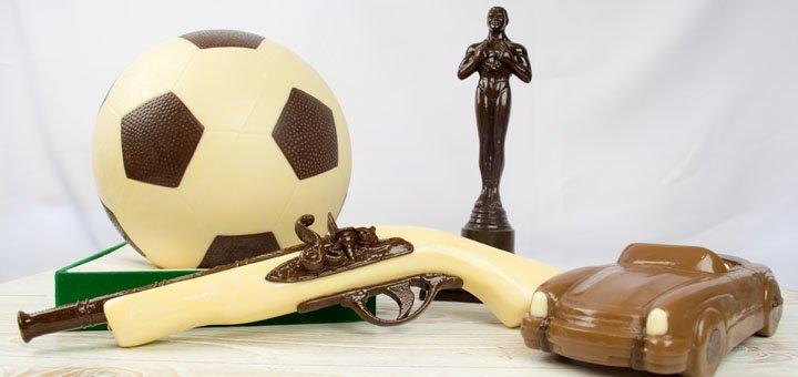 Скидка 10% на шоколадные объемные фигуры в интернет-магазине «CHOCOLINO»