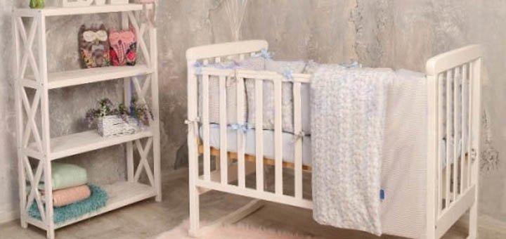 Скидка 50 грн при покупке набора детской постельки и сменного набора от ТМ «Маленькая Соня»