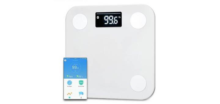 Скидка 25% на YUNMAI Mini 1501 Bluetooth 4.0 Smart Body Fat Scales