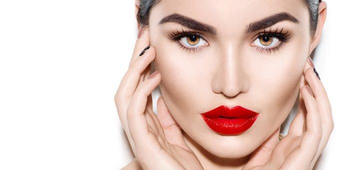Перманентный татуаж век, губ или бровей в салоне «Helena Exclusive & Beauty Soul Studio»