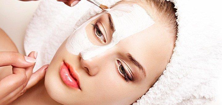 Механическая чистка лица с альгинатной маской в Косметологическом кабинете Анны Приходько