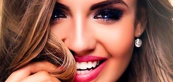 Татуаж губ, глаз или бровей на выбор в косметологическом кабинете «Красотка»