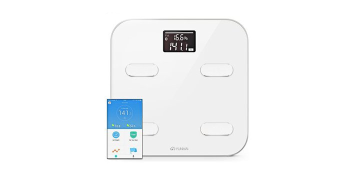 Скидка 25% на YUNMAI M1302 Bluetooth Smart Weighing Scale в интернет-магазине «GearBest»