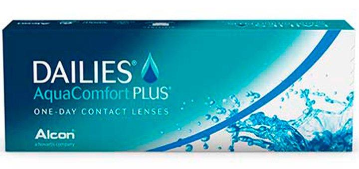 Однодневные контактные линзы «Focus Dailies Aqua Comfort Plus» (30 шт) + 10 линз в подарок