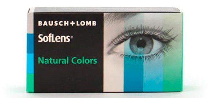 Скидка 20% при покупке упаковки линз «Soflens Natural Colors» (2 шт)