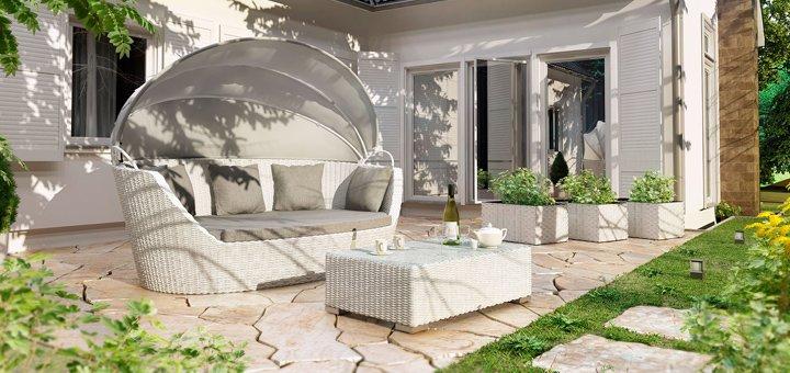 Скидка 10% на мебель из искусственного ротанга в интернет-магазине «GardenHouse»