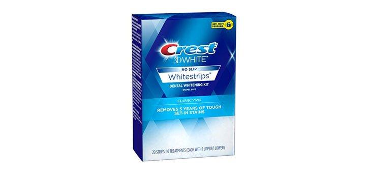 Скидка 15% на полоски для отбеливания зубов «Crest 3D White»