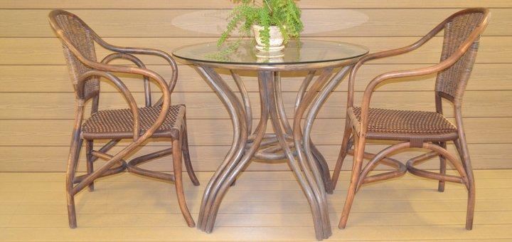 Скидка 10% на коллекционную мебель из натурального ротанга - кресло «Палермо»