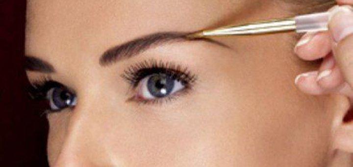 Моделирование, коррекция и окрашивание бровей от «Golden Beauty Studio»