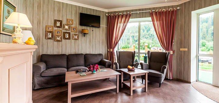 От 3 дней отдыха с питанием в отеле «Ольга» в Татарове в Карпатах