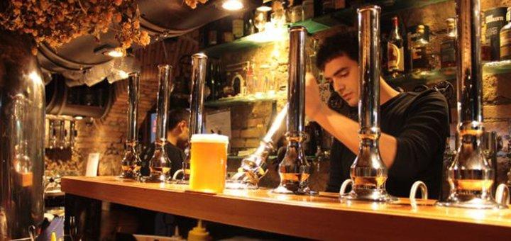 Скидка 30% на весь ассортимент крафтового пива в фирменном магазине «Hop Republic»