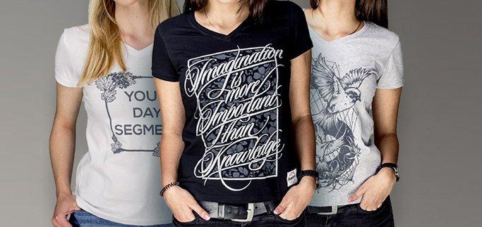 Придбай три жіночих футболки за шалено низькою ціною в магазині «Segment»