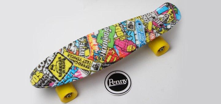 Скидка 10% на все «Penny Board» с рисунками 22 в магазине «SportZa»