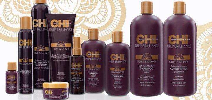 Скидка до 60% на профессиональную косметику по уходу за волосами «CHI», «Biosilk» и «Selective»