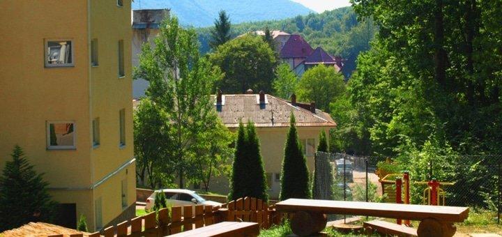 Скидка 30% на оздоровительные процедуры в комплексе «Сонячний» в Поляне