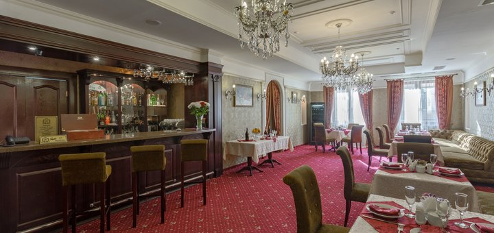 От 2 дней отдыха в пятизвездочном отеле «Калифорния» в Одессе
