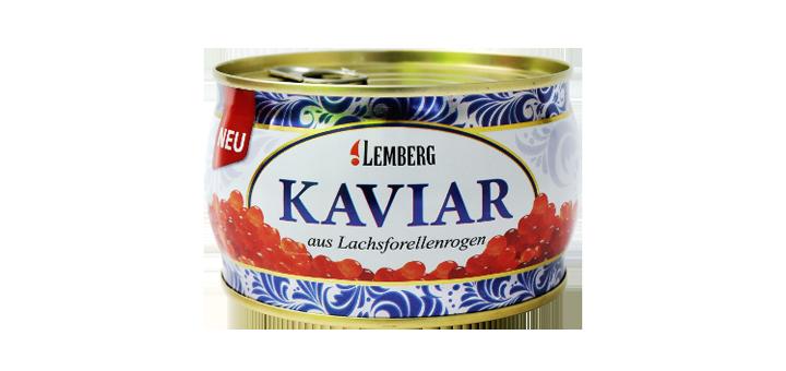 Скидка до 10% на красную и черную икру «Lemberg», бесплатная доставка