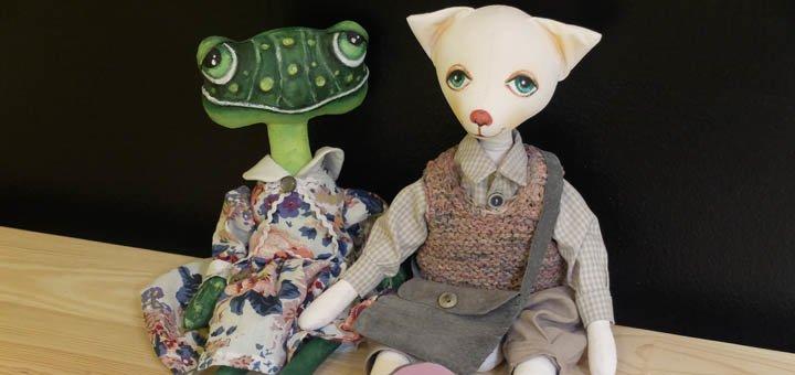Курс по пошиву игрушек от образовательной школы «Артхаус»
