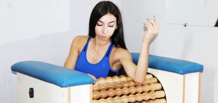 До 20 сеансов антицеллюлитного роликового массажа на массажере Rolletic в фитнес-клубе «Delta»