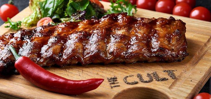 Знижка 30% на все меню кухні на день народження в лаундж-барі «The Cult»