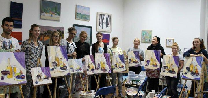 До 8 занятий по рисованию акварелью в студии «Штрих»