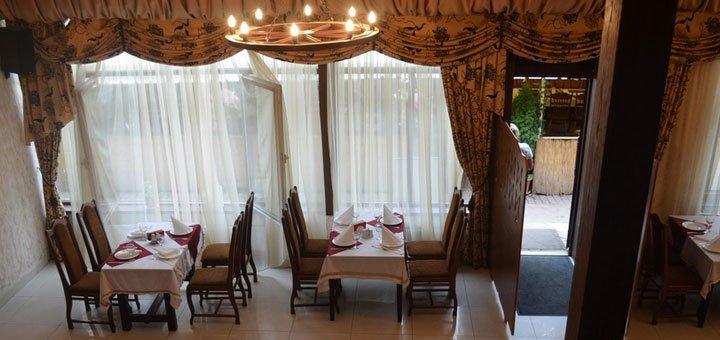 Скидка 50% на меню кухни в ресторане грузинской и кавказской кухни «Сухуми»