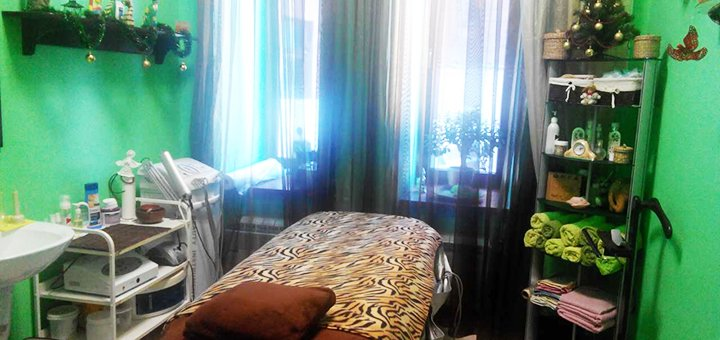 Спа-программа «Арома Релакс» в кабинете эстетической косметологии и массажа Ольги Репиной