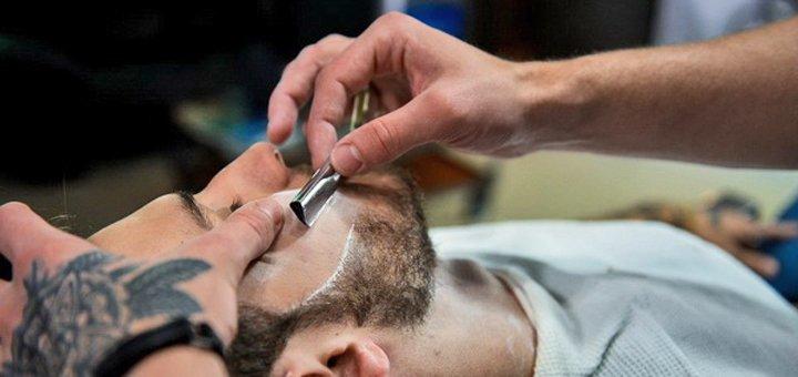 Стрижка бороды и мужской маникюр в барбершопе «Syndicate»