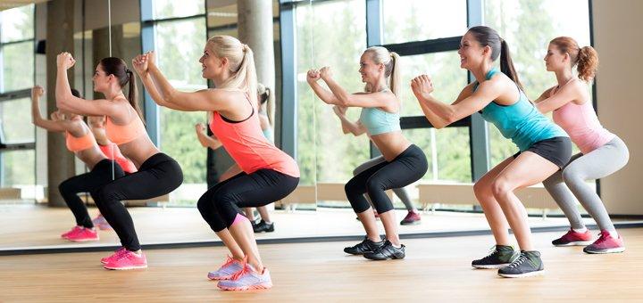 До 8 занятий Fitness Lady в спортивной студии «Сакура»
