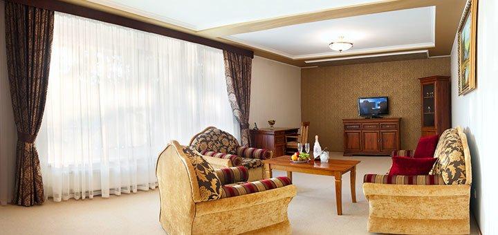 От 3 дней отдыха для двоих в резорт-отеле «Шервуд» под Львовом