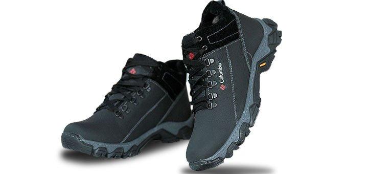 Скидки до 30% на кожаные зимние мужские ботинки в интернет-магазине «Topik»