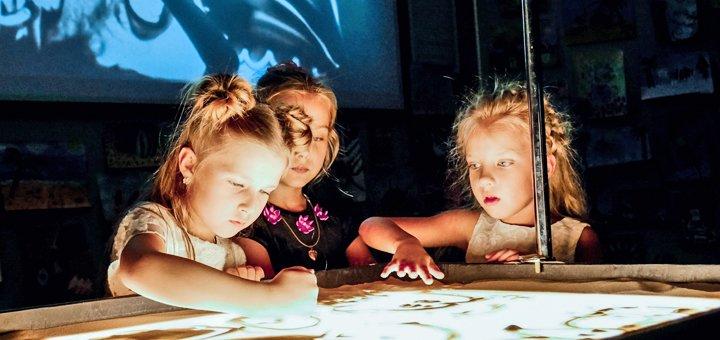 До 3 мастер-классов по песочной анимации для детей в творческой студии «ArtiShock»