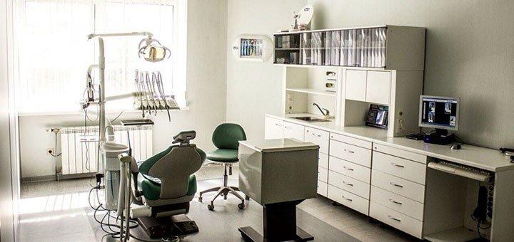 Ультразвуковая чистка зубных отложений и Air Flow в клинике «Крайневой»