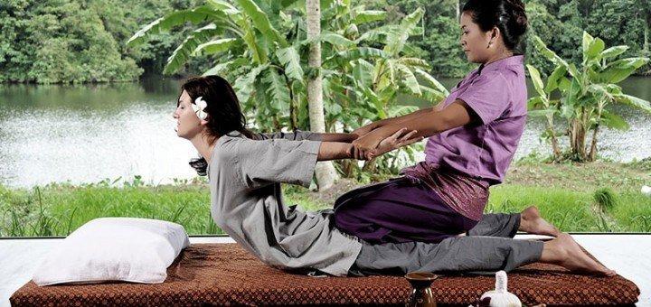 Тайский массаж в салоне тайского массажа «ЧокDI»