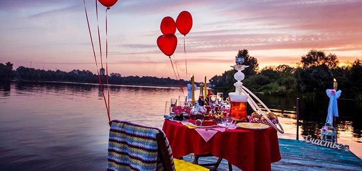 Скидка 10% на организацию любого романтического свидания от cервиса для влюбленных Romantik.ua