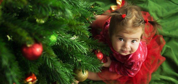 Детская новогодняя фотосессия от фографа Екатерины Залюбовской