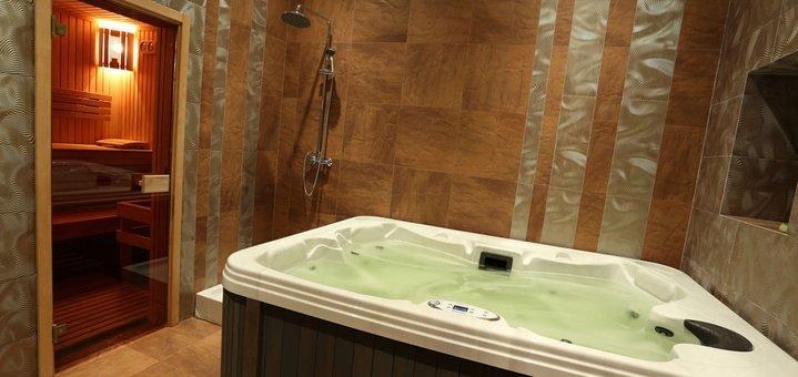 Скидка 50% для именинников на посещение сауны от «Aroma Sauna»