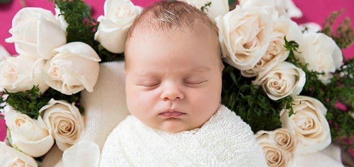 Фотосессия новорожденного в специализированной студии «BABY BOX STUDIO»