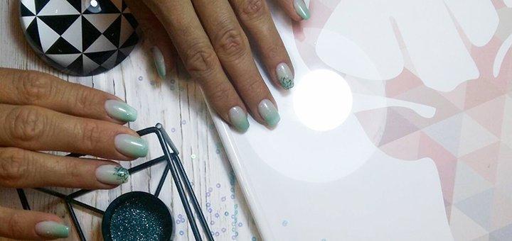 Манікюр чи педікюр з покриттям гель-лаком і дизайнами в студії краси «В.Mama»