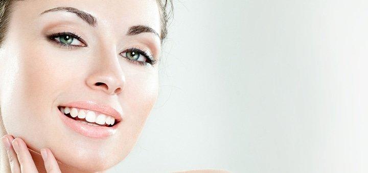Ультразвуковая или комбинированная чистка лица с гальваническим уходом по типу кожи в салоне красоты «MANGO»!