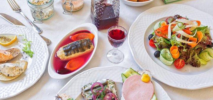 Скидка 30% на все меню кухни и бара в ресторане «Ноябрь»