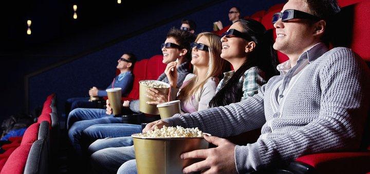 Билеты для двоих на любой фильм в любое время в кинотеатре «Кинопанорама»