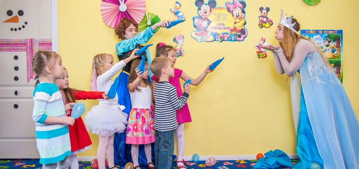 День рождения ребенка или детский тематический праздник в детском клубе «DamiAni»