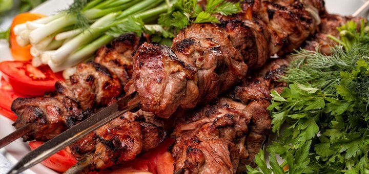 Скидка 50% на меню ресторана грузинской и кавказской кухни «Georgian House»